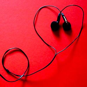 Ecouter une station de radio diffusant des chansons d'amour