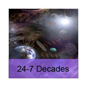 Fiche de la radio 24-7 Decades