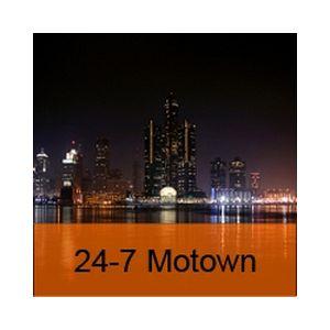 Fiche de la radio 24-7 Motown