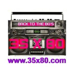 Fiche de la radio 35×80 Back to the 80s