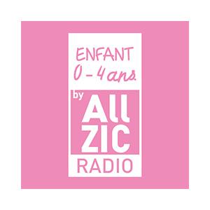 Fiche de la radio Allzic Radio Enfant 0 / 4 ans