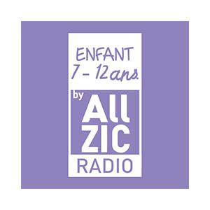 Fiche de la radio Allzic Radio Enfant 7 / 12 ans