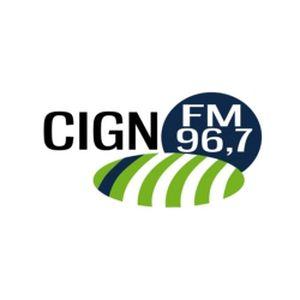 Fiche de la radio CIGN 96.7