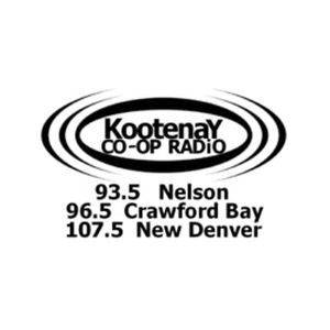 Fiche de la radio CJLY Kootenay CO-OP Radio 93.5 FM