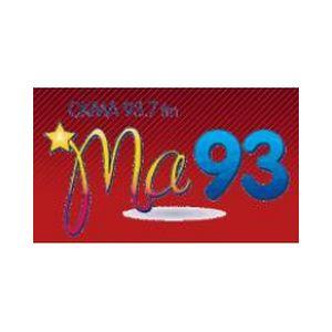 Fiche de la radio CKMA Ma 93