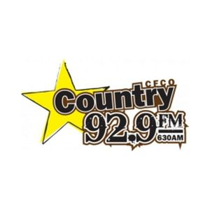 Fiche de la radio Country 92.9