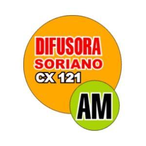 Fiche de la radio Difusora Soriano CX 121 AM
