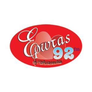Fiche de la radio Έρωτας 92