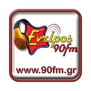 Fiche de la radio Εύριπος 90.0 FM