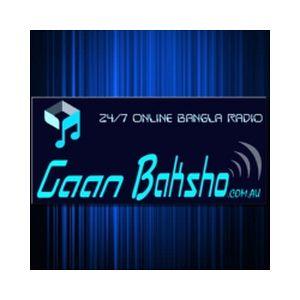 Fiche de la radio Gaan Baksho – 24/7 Bangla Radio