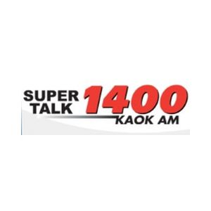 Fiche de la radio KAOK Super Talk 1400