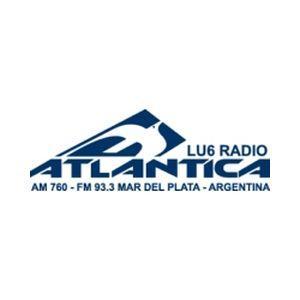 Fiche de la radio LU6 Radio Atlantica AM 760