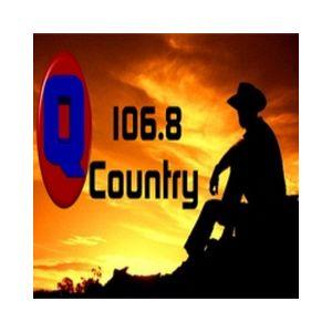 Fiche de la radio Q106.8 Country