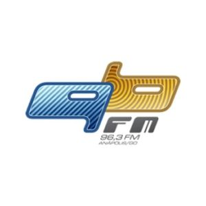 Fiche de la radio Radio 96 FM 96.3 FM Anápolis, GO