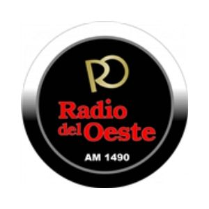 Fiche de la radio Radio Del Oeste 1490 AM