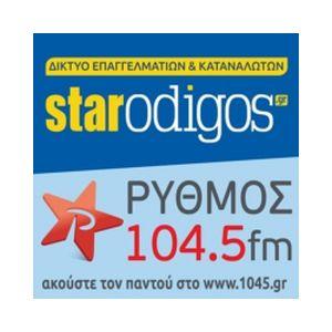 Fiche de la radio Ρυθμός 104.5 Fm