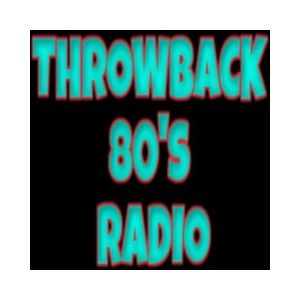 Fiche de la radio Throwback 80's Radio