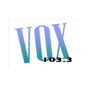 Fiche de la radio Vox 103,3