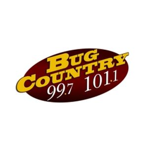 Fiche de la radio WBGK Bug Country 99.7