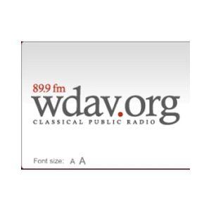 Fiche de la radio WDAV NPR 89.9 FM