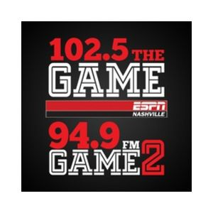 Fiche de la radio WPRT 102.5 The Game