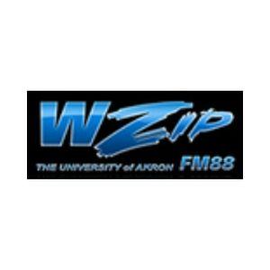 Fiche de la radio WZIP University of Akron 88.1 FM