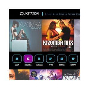 Fiche de la radio Zoukstation Kizomba